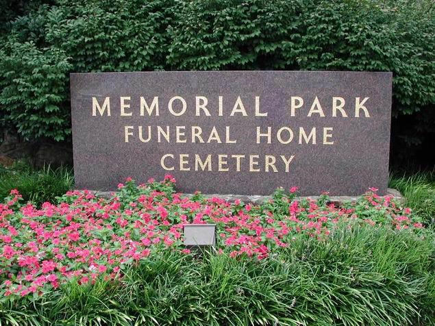 Memorial Park Cemetery Memphis Tennessee